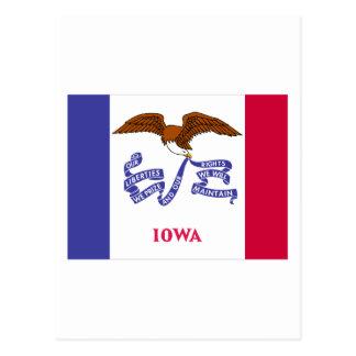 Bandera del estado de Iowa Postal