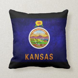 Bandera del estado de Kansas Cojin