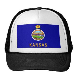 Bandera del estado de Kansas Gorro De Camionero