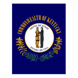 Bandera del estado de Kentucky Postal