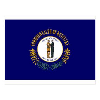 Bandera del estado de Kentucky Tarjetas Postales