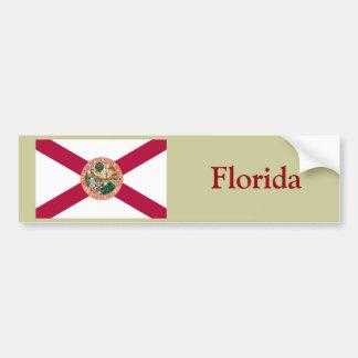 Bandera del estado de la Florida Etiqueta De Parachoque