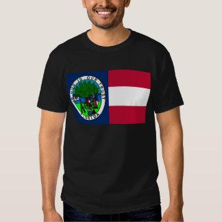 Bandera del estado de la Florida confederado 1861 Playeras