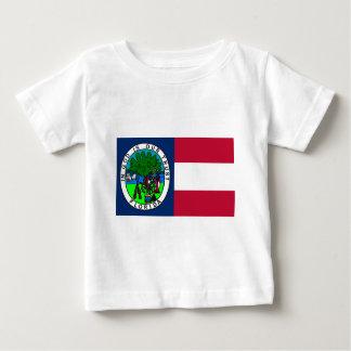 Bandera del estado de la Florida confederado 1861 Remera