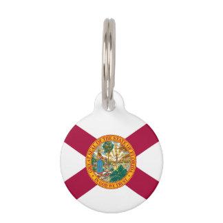 Bandera del estado de la Florida Identificador Para Mascotas