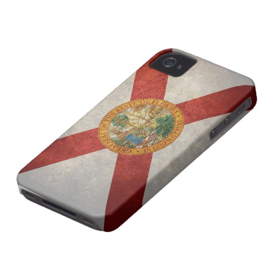 Bandera del estado de la Florida Funda Para iPhone 4