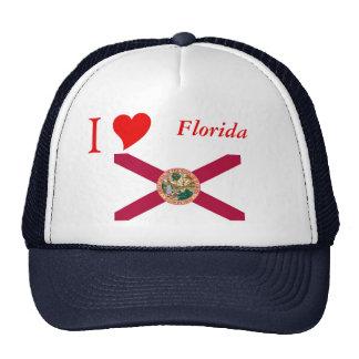 Bandera del estado de la Florida Gorro De Camionero