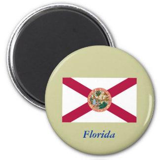 Bandera del estado de la Florida Imán Para Frigorífico