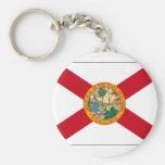 Bandera del estado de la Florida Llaveros Personalizados
