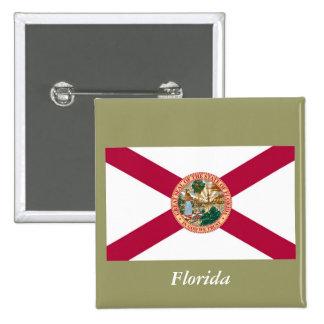 Bandera del estado de la Florida Pins