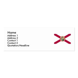Bandera del estado de la Florida Tarjeta De Visita