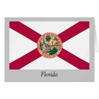 Bandera del estado de la Florida Tarjetas