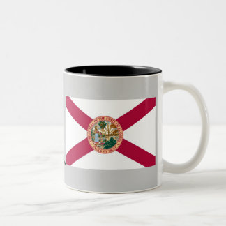 Bandera del estado de la Florida Taza De Café