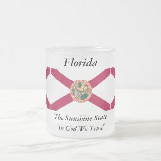 Bandera del estado de la Florida Tazas De Café