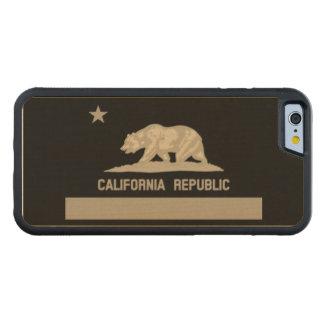 Bandera del estado de la república de California Funda De iPhone 6 Bumper Arce