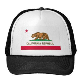 Bandera del estado de la república de California Gorros