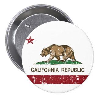 bandera del estado de la república de California Pins