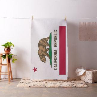 Bandera del estado de la república de California Telas