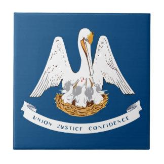 Bandera del estado de Luisiana Azulejo