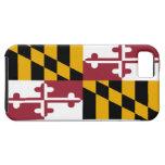 Bandera del estado de Maryland iPhone 5 Case-Mate Fundas