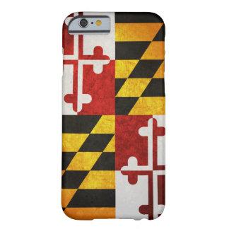 Bandera del estado de Maryland Funda De iPhone 6 Barely There