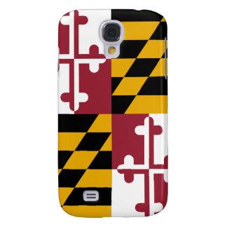Bandera del estado de Maryland Funda Para Galaxy S4