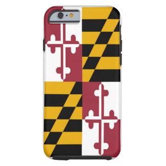 Bandera del estado de Maryland Funda Para iPhone 6 Tough