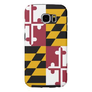 Bandera del estado de Maryland Fundas Samsung Galaxy S6