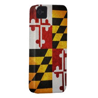 Bandera del estado de Maryland iPhone 4 Carcasa