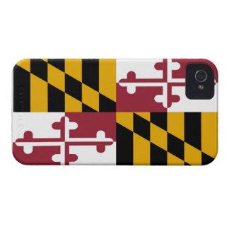 Bandera del estado de Maryland iPhone 4 Protector