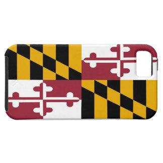 Bandera del estado de Maryland iPhone 5 Fundas