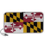 Bandera del estado de Maryland Laptop Altavoces