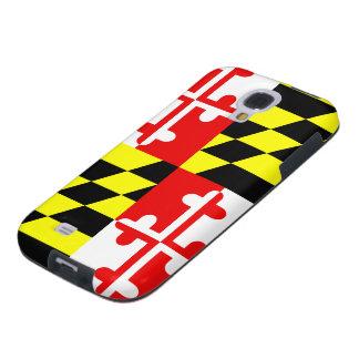Bandera del estado de Maryland - los E.E.U.U. Funda Galaxy S4