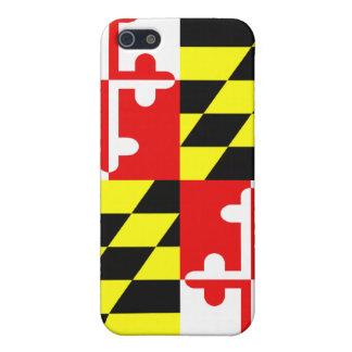 Bandera del estado de Maryland - los E.E.U.U. iPhone 5 Carcasa
