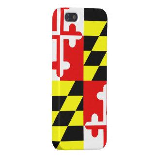 Bandera del estado de Maryland - los E.E.U.U. iPhone 5 Funda
