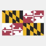 Bandera del estado de Maryland Rectangular Altavoces