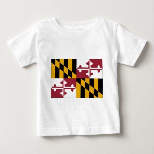 Bandera del estado de Maryland Playeras