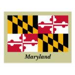 Bandera del estado de Maryland Postal