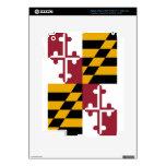 Bandera del estado de Maryland iPad 3 Pegatina Skin