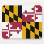 Bandera del estado de Maryland Tapete De Raton