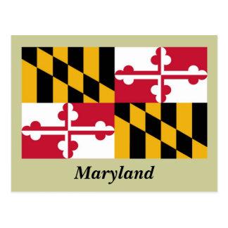 Bandera del estado de Maryland Tarjetas Postales
