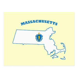Bandera del estado de Massachusetts Postal
