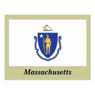Bandera del estado de Massachusetts Postales