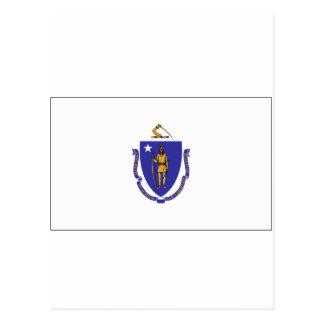 Bandera del estado de Massachusetts Tarjetas Postales