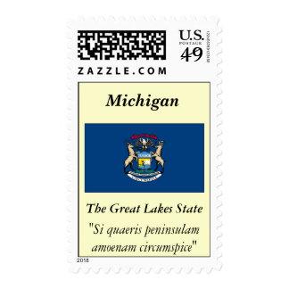 Bandera del estado de Michigan