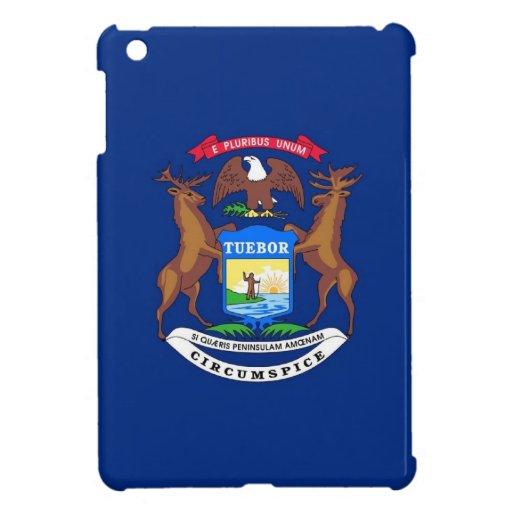 Bandera del estado de Michigan iPad Mini Coberturas