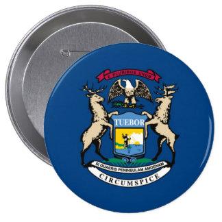 Bandera del estado de Michigan Pin