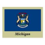 Bandera del estado de Michigan Postal