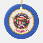 Bandera del estado de Minnesota Ornamentos De Reyes