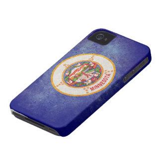 Bandera del estado de Minnesota iPhone 4 Case-Mate Carcasa